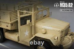1/6 Scale 12 Diecast M35 A2 U. S2.5 ton Truck Weapons Carrier With Gun