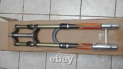 2001 Answer Manitou X-vert Carbon Mrd 180mm Dh Fork Hand Made In California USA