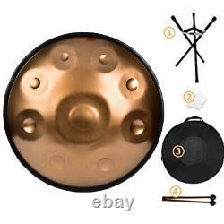 22 9 Notes Handpan Hand Pan Drum Handmade DC04 Steel+Stand+Bag+Hammer USA