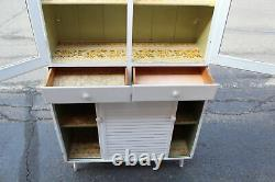 Antique Country Farm Hutch Cabinet Cupboard Shabby Chic Drs. Office Mastercraft
