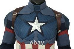 Avengers 4 Endgame Captain America Cosplay Costume Superhero Cosplay Costume