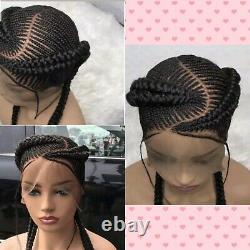 Braided wigHandmade full lace Cornrow braids, PRE-ORDER ONLY. 2-3WEEKS. Loc USA