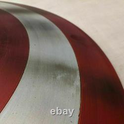 Broken Shield of Captain America Metal Prop Replica Avengers Endgame Shield Gift