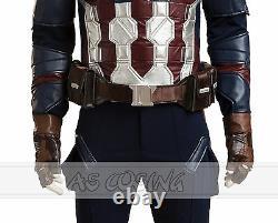 Captain America 3 Civil War Steven Rogers Cosplay Costumes Halloween Costume