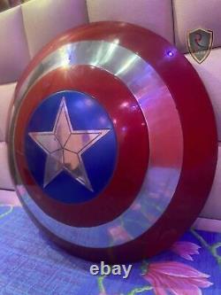 Captain America Shield Metal Prop Replica Screen Accurate 11 Scale