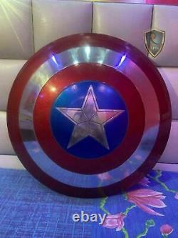 Captain America Shield Metal Prop Replica Screen Accurate 11 Scale Gift