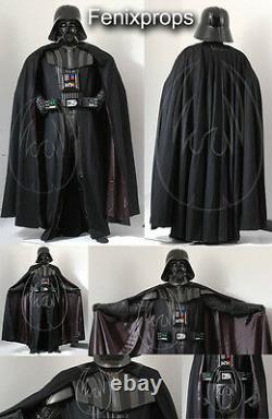 Darth Vader costume Soft part Kit Deluxe STAR WARS prop FREE SHIPPING TO AMERICA