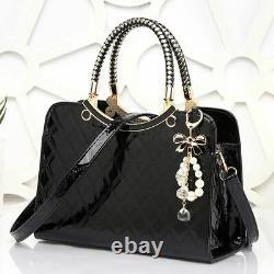 Fashion Handbags Women Bags Shoulder Messenger Bags Wedding Clutches Bag Black