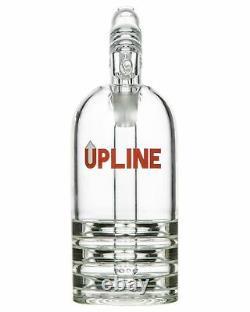 Grav Upline Upright Bubbler 8 Bong Glass Water Pipe Hookah High Quality USA