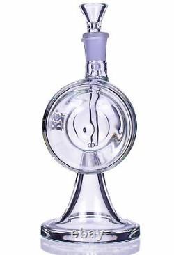 JINNI PIPE 7 Infinity GRAVITY Pipe BONG Glass Water Pipe Hookah BUBBLER USA