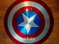 New 11 Avengers Metal Shield 75th Anniversary Captain America Shield Replica