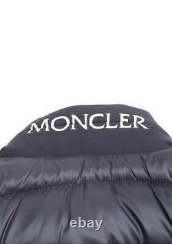 New Moncler Blue Rodez Doudoune Jacket Coat Size 1 / S / 46 / 36 U. S. Jacket