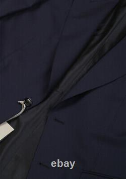 New TOM FORD Windsor Signature Solid Blue Suit Size 52 IT / 42R U. S