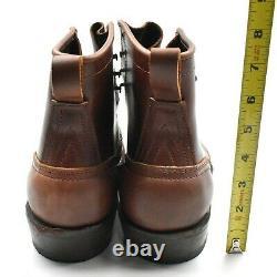 Nicks Nick's NEW Boots Robert Sz 9.5D Brown Leather Handmade USA