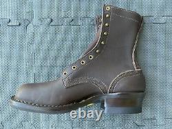 Nicks Nicks Handmade Boots Walnut USA Ranger 55 Last Smooth Wesco 10.5 D 8 New