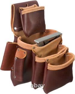 Occidental Leather 5062LH 4 Pouch Pro Left Handed Fastener Bag MADE IN USA