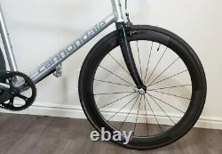 RARE USA Handmade Cannondale Track Capo Optimo 58cm Fixed Fixie Track Bike 2007