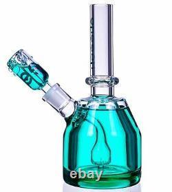 THICK Cheech 8 Glycerin BEAKER Bong FREEZABLE Glass Water Pipe Hookah USA