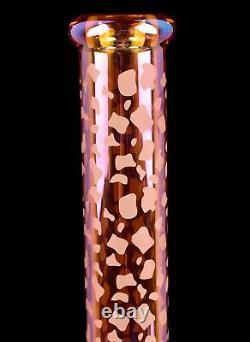 THICK Chill Glass 15 HEAVY Beaker BONG Cute Glass Water Pipe GIRLY Hookah USA