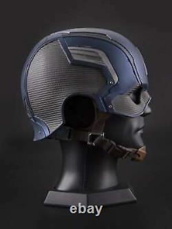 The Avengers Mask Captain America FRP Hard Helmet Costume Replica Halloween Prop