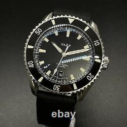 Vaer D5 Atlantic USA Dive Automatic SS Bracelet Tropic Band Full Kit Mens Watch