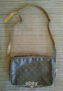 Vintage Louis Vuitton Leather Crossbody Bag Made In The Usa