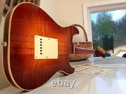 1998 James Hamilton Gaucher Hamiltone Srv Guitar Only Lefty Ever Made