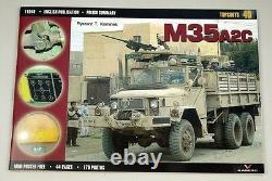 1/6 Échelle 12 Diecast M35 A2 U. S2.5 Tonne Transporteur D'armes De Camion Avec Le Pistolet