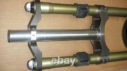 2001 Réponse Manitou X-vert Carbon Mrd 180mm Dh Fourche Fabriqué À La Main En Californie USA