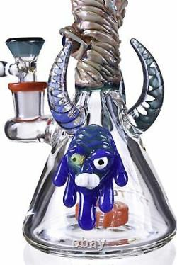 8 Pomme De Douche Perc Bong Unique En Verre Lourd Pipe D'eau Hookah Tattoo Glass USA