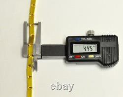 9999 24k Yellow Gold Baht Box Bracelet 30.0 Grammes Handmade In USA Rectangle