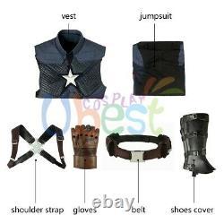 Avengers Endgame Steve Rogers Captain America Costume Cosplay Version 2