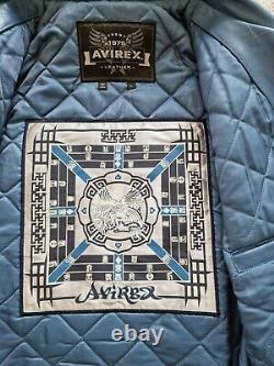 Avirex Chinese New Year Veste En Cuir Grande Extrêmement Rare Et Exclusive