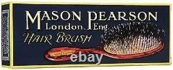 Brosse À Cheveux Mason Pearson Handy Bristle & Nylon (bn3) Expédié Des États-unis