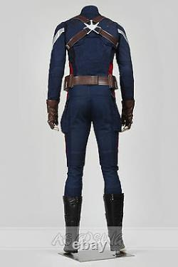 Captain America 2 Steven Rogers Hiver Soldat Costume Cosplay Costume D'halloween