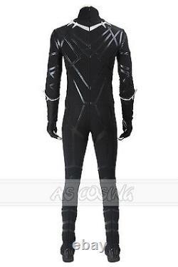 Captain America 3 CIVIL War Costume Black Panther Costume Halloween Costume Plus Chaussures
