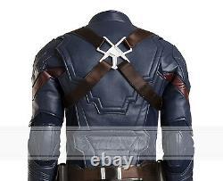Captain America 3 CIVIL War Steven Rogers Costumes Cosplay Costume D'halloween