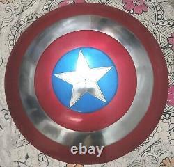Captain America Shield Metal Prop Replica Écran Précis 11 Bouclier À L'échelle