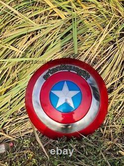 Captain America Shield Metal Prop Replica Écran Précision 11 Échelle