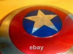 Captain America Shield-metal Prop Replica Marvel Captain America Cosplay Sca Lar