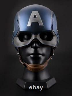 Le Masque Avengers Captain America Frp Costume De Casque Dur Replique Halloween Prop