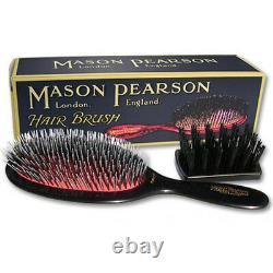 Mason Pearson Pinceau À Cheveux Populaire (bn1) Navires Authentiques Des États-unis