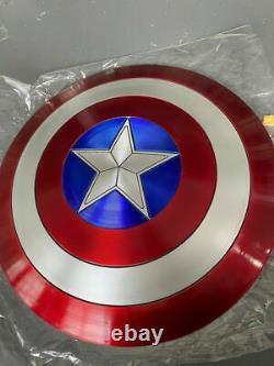 Nouveau 11 Avengers Bouclier Métallique 75e Anniversaire Captain America Shield Replica