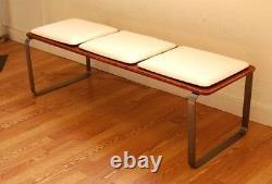 Ply Bak Bench 3 MID Century Modern Bench Eames Era Beaucoup D'options De Couleur Faites À La Main