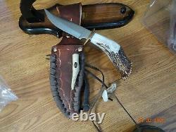 Poignée À La Main De La Couronne Poignée Bowie Couteau 10 Sur L'ensemble Fabriqué En U.s. A. Par Ken Rich