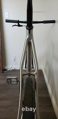 Rare USA Handmade Cannondale Track Capo Optimo 58cm Fixie Fixie Track Bike 2007