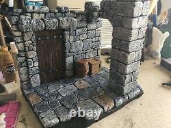 Ruines Dungeon Action Figurine Diorama Props Inclus 112 Échelle Faite Sur Mesure