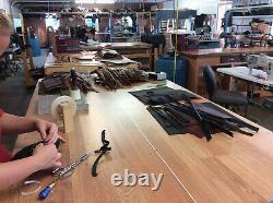 Suspendeurs De Travail De Lettre Amish Construction Belt & Back Support USA Handmade