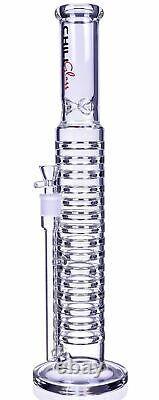 Tall Chill Glass 19 Straight Bong Thick Tuyau D'eau En Verre Big Hookah USA