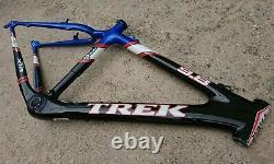 Trek 9.8 Oclv Carbon Mountain Bike Frame Fabriqué À La Main Aux États-unis Rétro